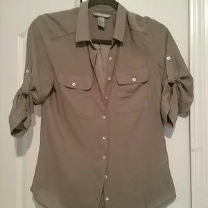 H&M Button Up Blouse